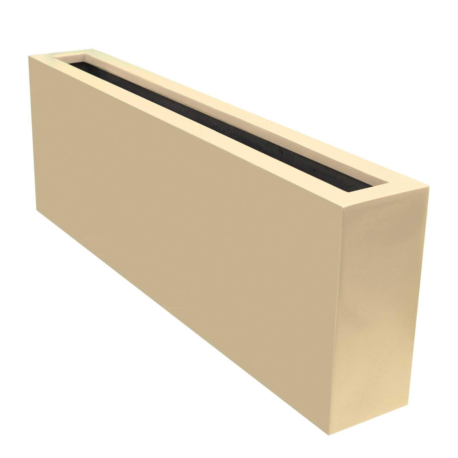 Contemporary Planter Box - Fiberglass - 54'L x 8'W x 18'H