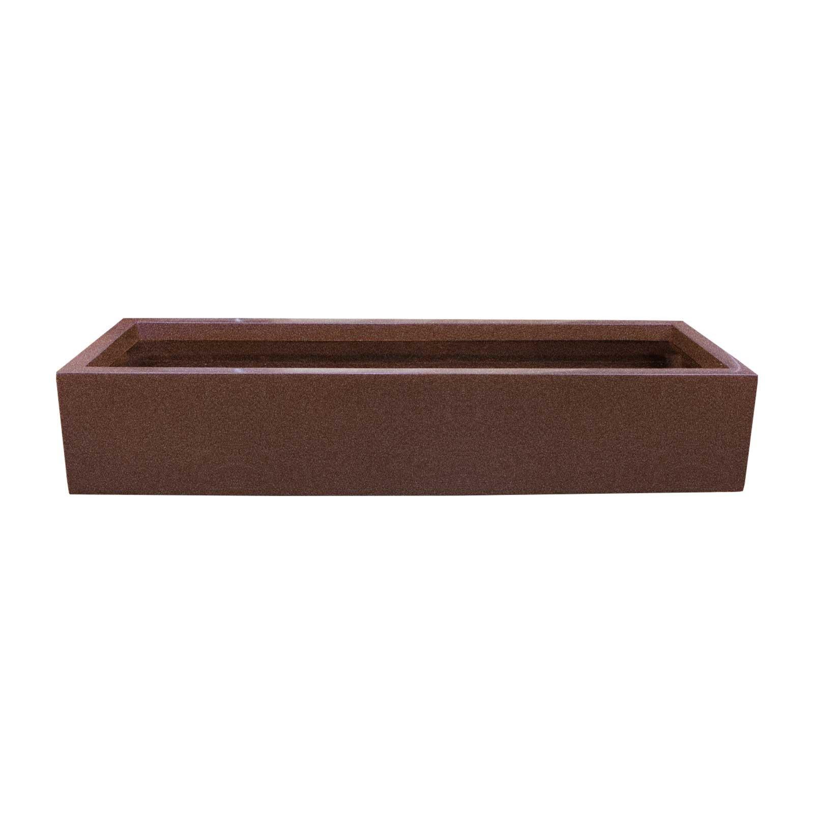 Outdoor Fiberglass Planter Box - 45'L x 15'W x 8'H