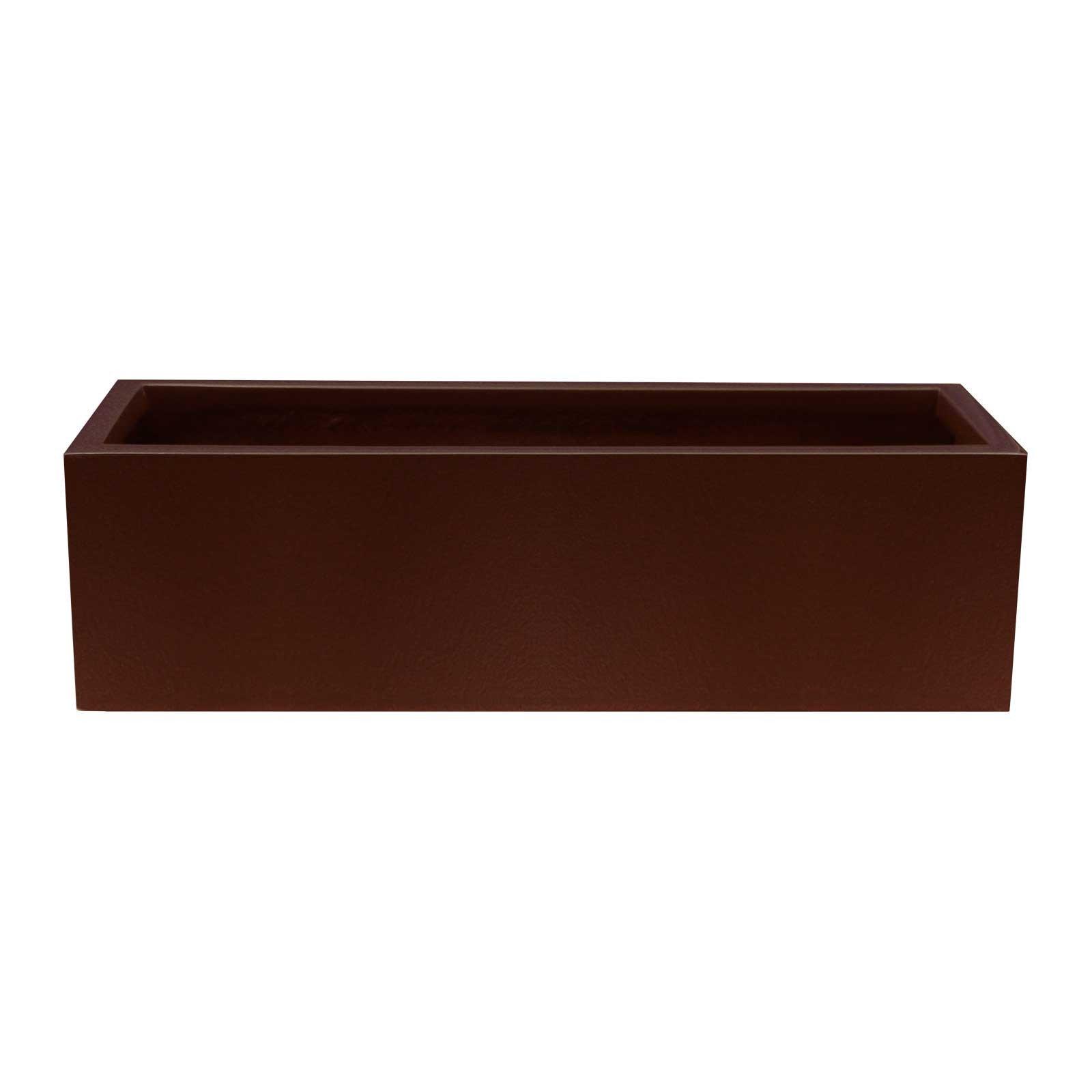 Low Profile Planter Boxes - Fiberglass - 12' Tall, (36'/48' Length 14'/24' Width)