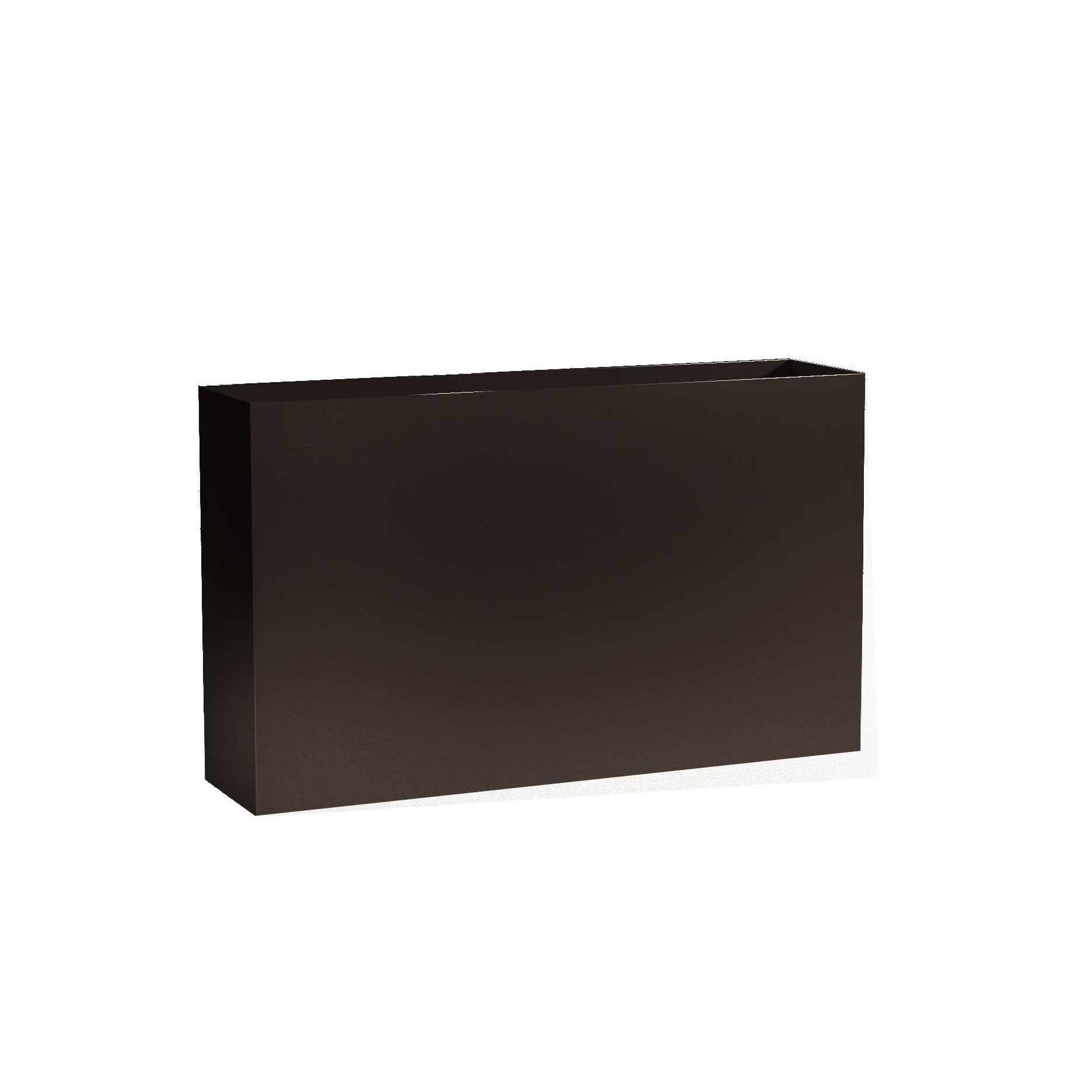 Modern Metal Planter Boxes - Aluminum - 24' Tall, (32'/36'/40' Length; 10' Width)