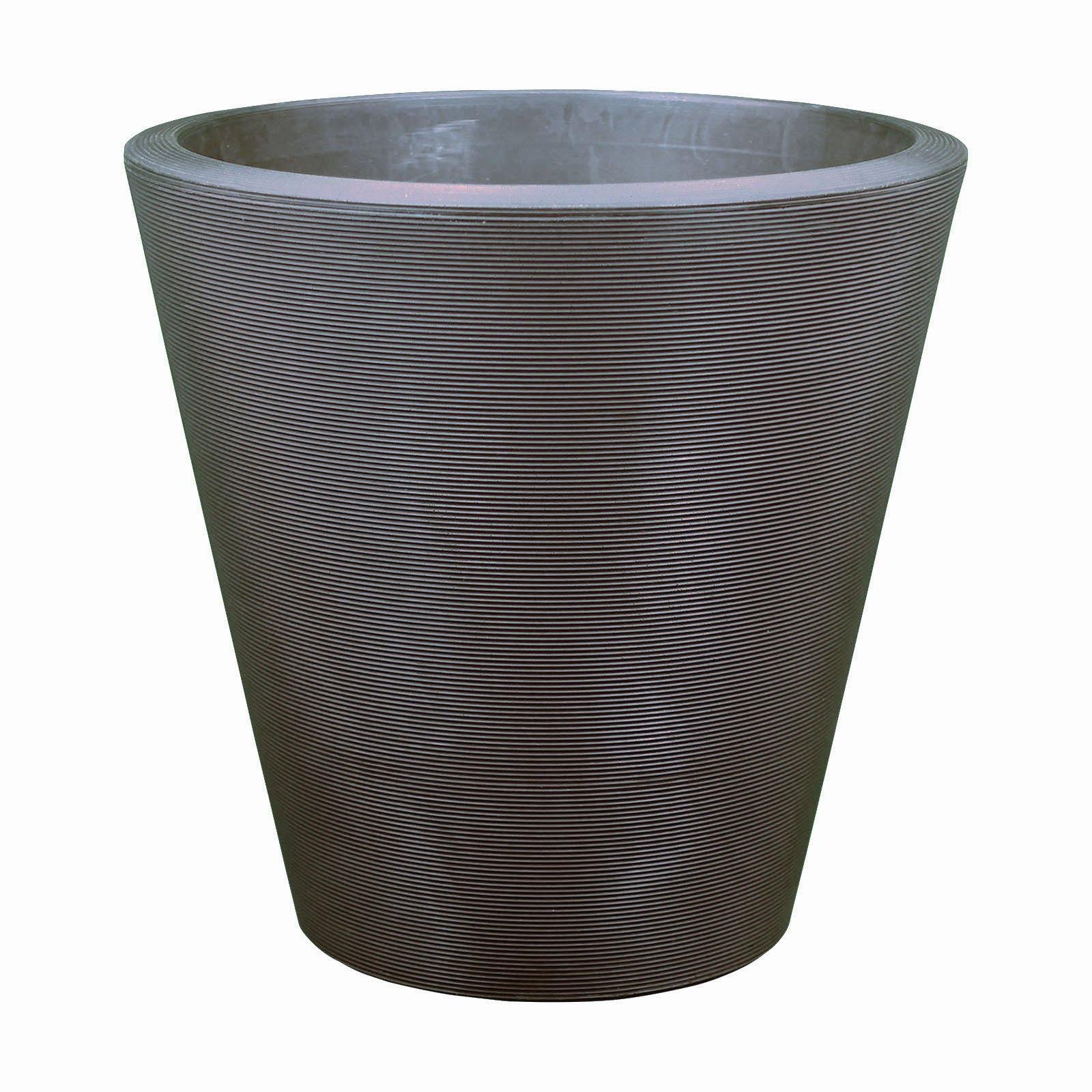 Large Outdoor Planters - Plastic - 14'/16'/20'/26'/34' Diameters