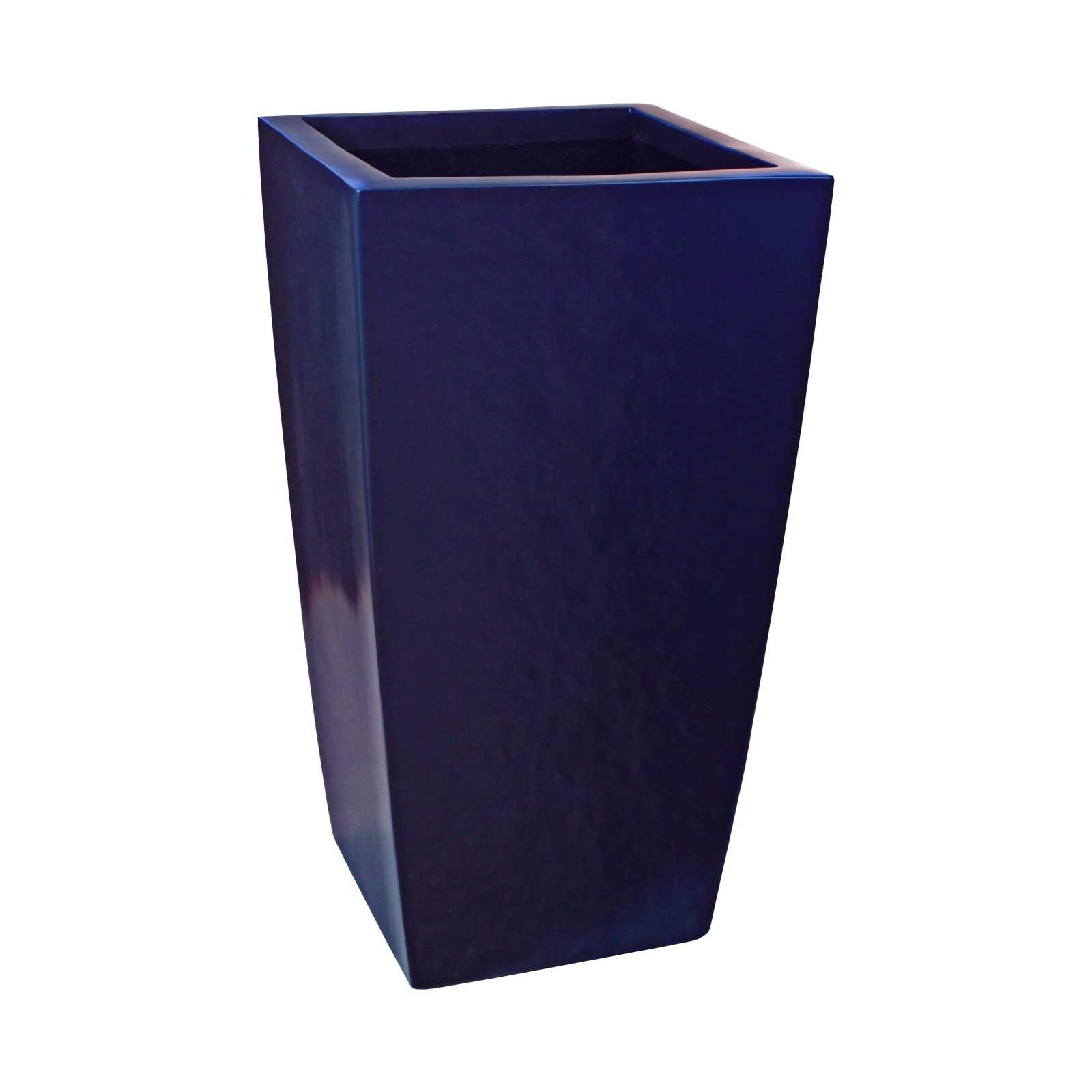 Large Tapered Square Planter - Fiberglass - 42'/48'/60' Tall