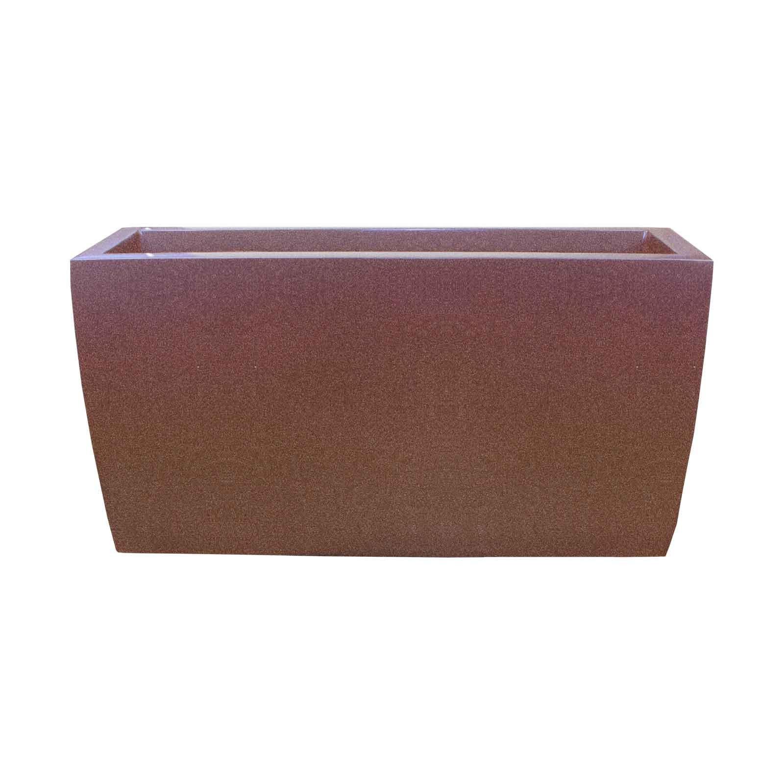 Tapered Planter Box - Fiberglass - 36'L x 12'W x 18'H