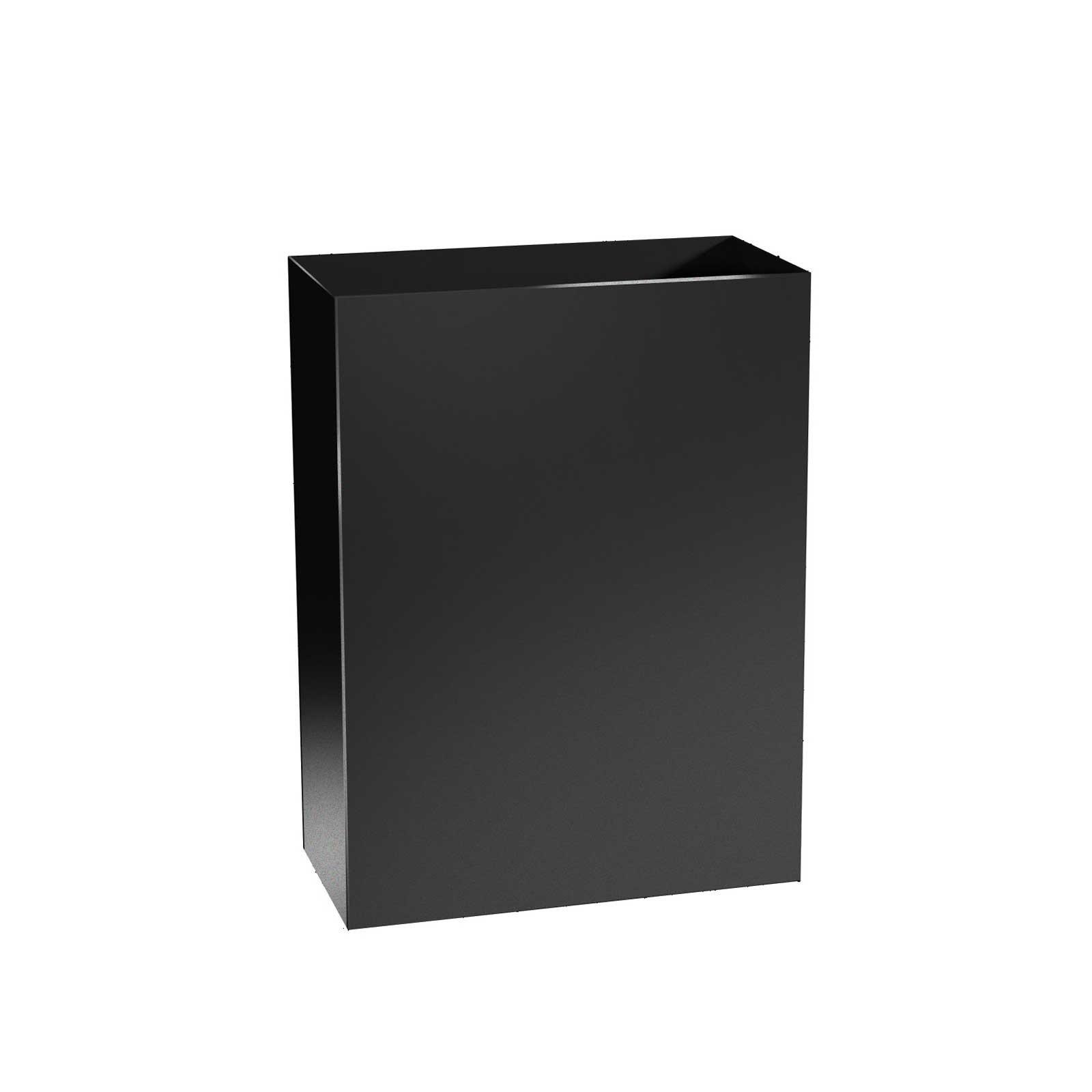 Tall Metal Planters - Aluminum - 32' Tall, (18'/24' Length, 12' Width)